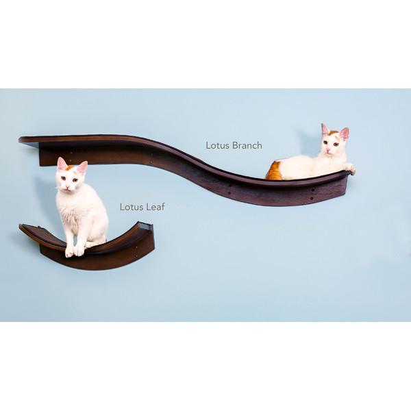 Eleganza Branch Cat Wall Shelf