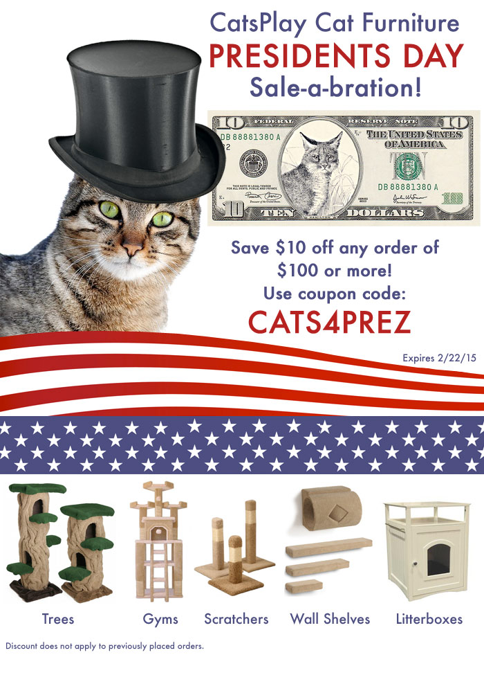 catsplay cat furniture presidents day sale a bration