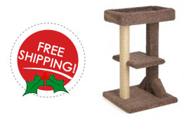 free shipping on cat tree
