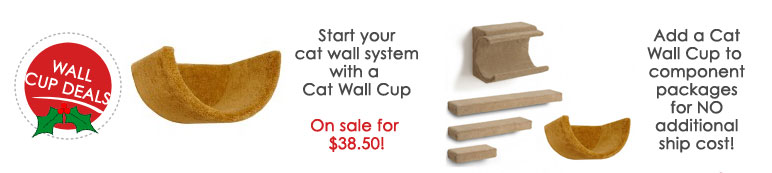 Discounts and deals on wall mounted cat cups