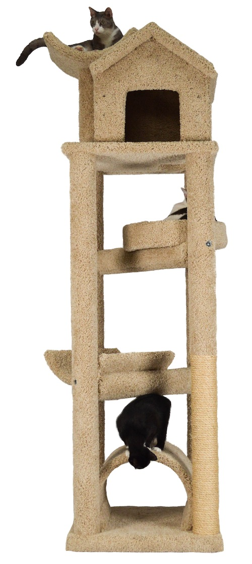 Skyscraper Cat Gym - 84 inches