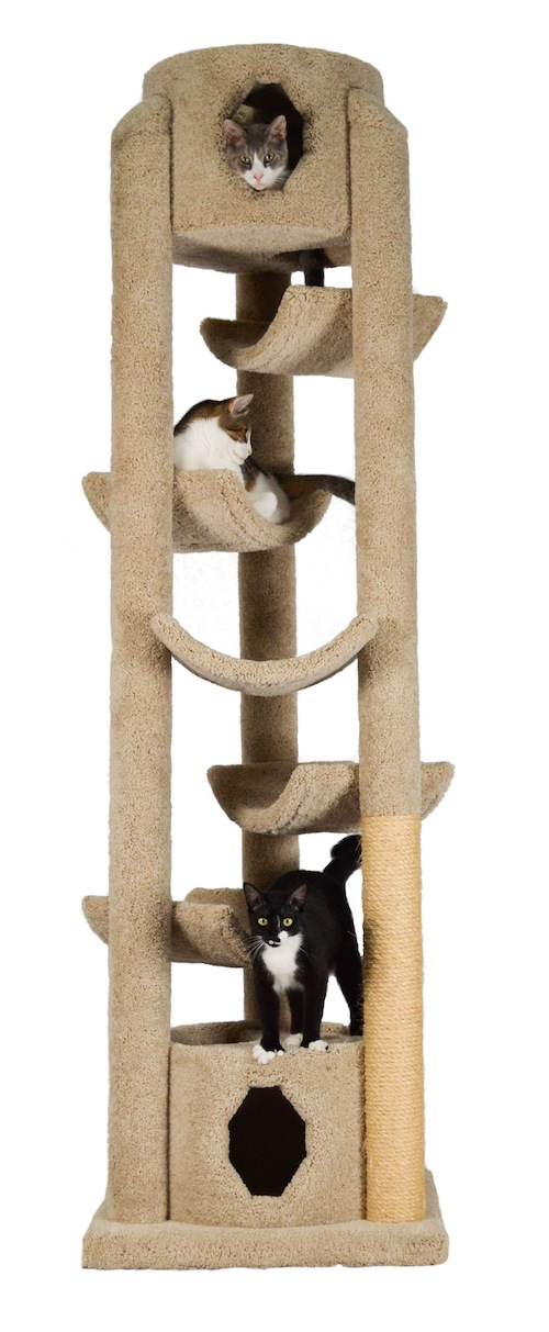The Pinnacle Cat Gym - 86 Inches