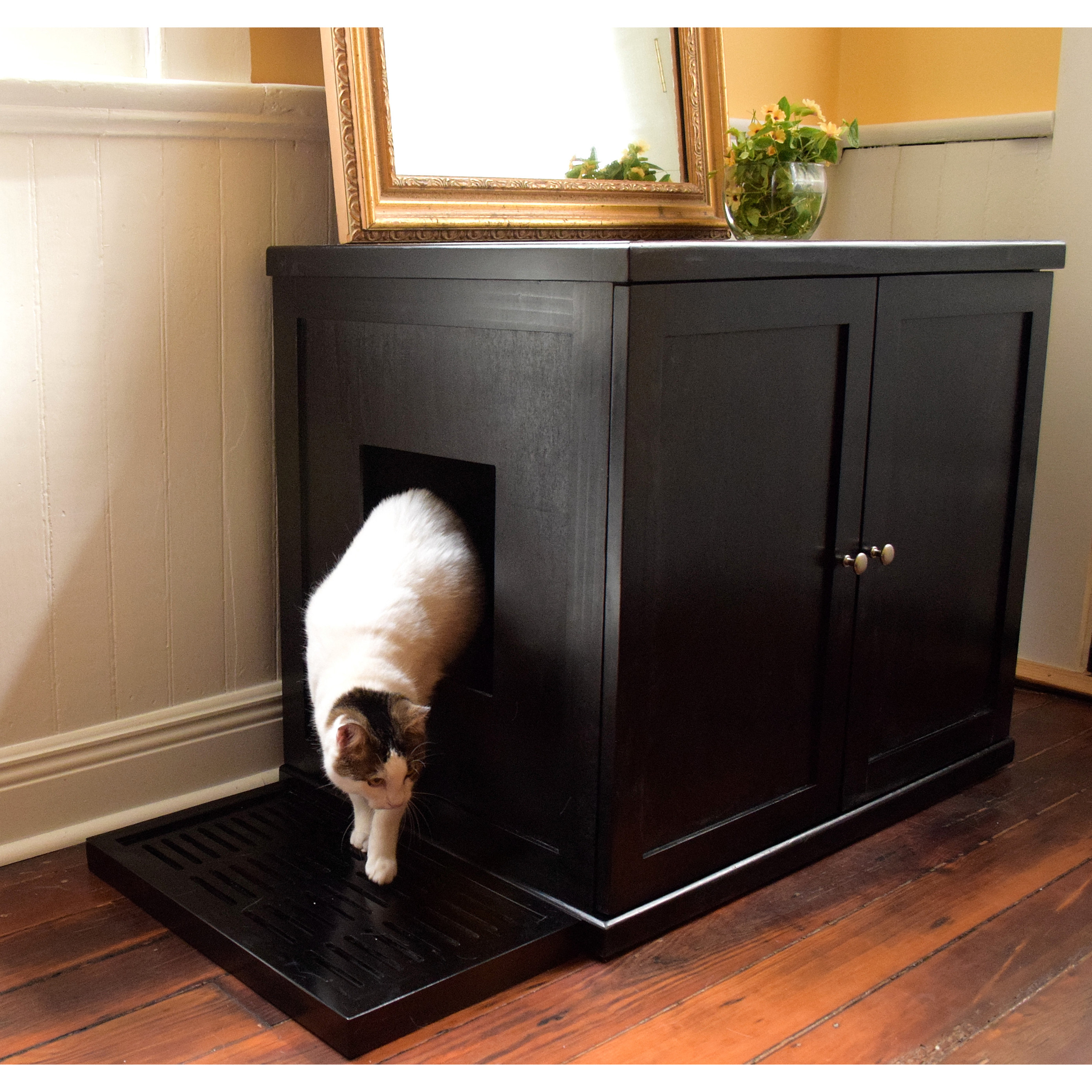 Refined Cat Litter Box
