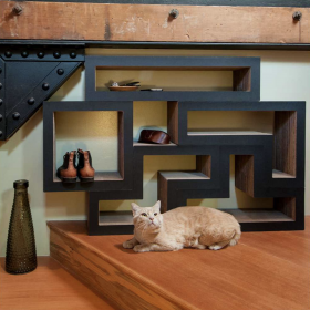 Our Modular Cat Tree Systems are like building blocks to make your own cat towers!