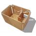 Artisan Made Birch Cat Litter Box - Standard Size