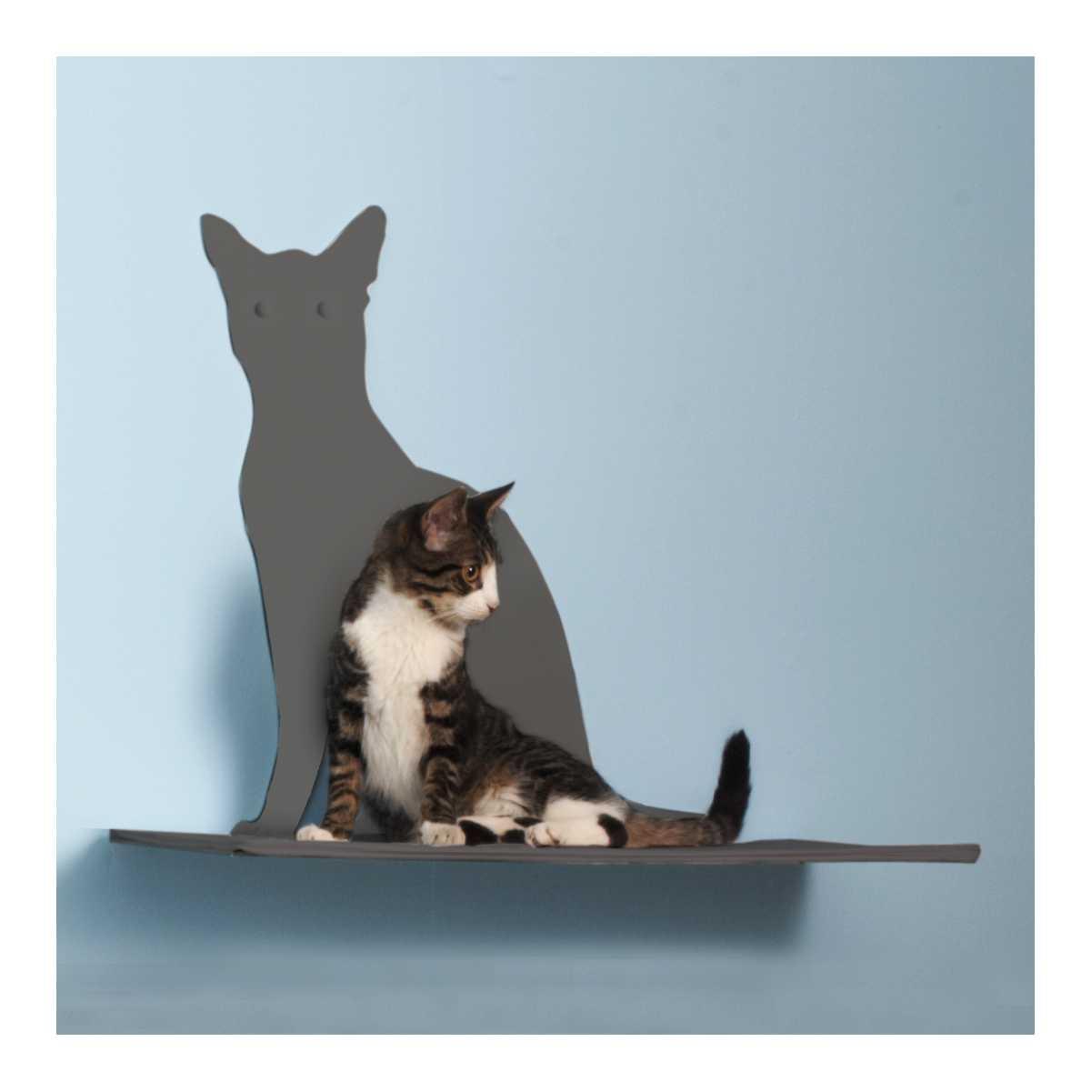 Cat Silhouette Cat Shelf Perch