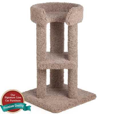 34 Inch Corner Cat Tower