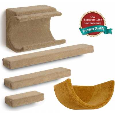 Cradle + 3 Ramps + Wall Cup Cat Wall Climbing Package