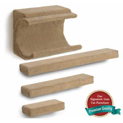 Cradle + 3 Ramps Cat Wall Climbing Package