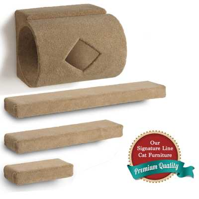 Tube + 3 Ramps Cat Wall Climbing Package