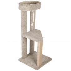 Kitty Hangout Cat Tree with Sisal Scratching Leg