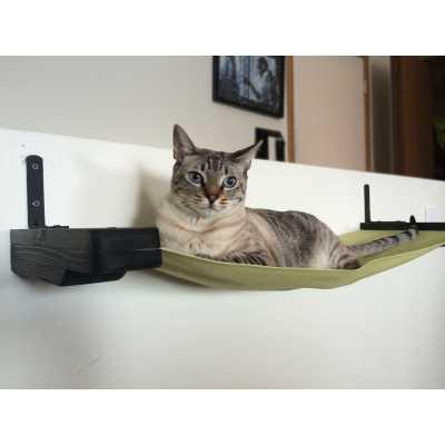 CatastrophiCreations 32 Inch Hammock Cat Shelf