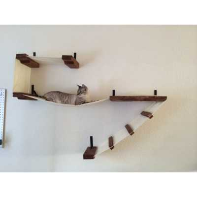 CatastrophiCreations  Deluxe Cat Wall Play Place