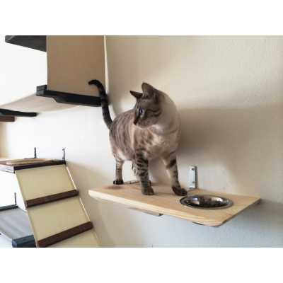 CatastrophiCreations  Wall Mounted Cat Feeder
