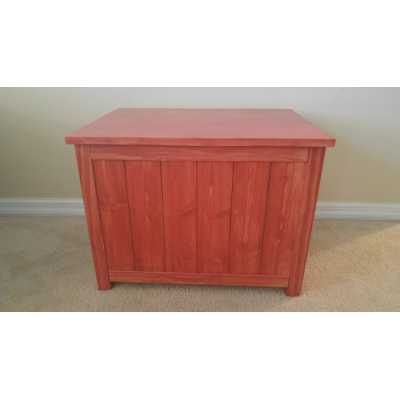 Small Cat Litter Box Chest with Odor Absorbing Light
