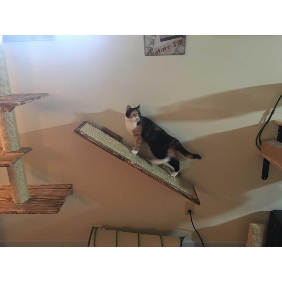 Sisal Wall Mounted Cat Ramp