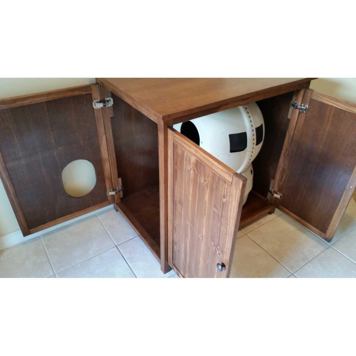litter robot cabinet