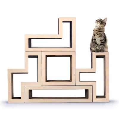 Modular Cat Tree - Wood Maple
