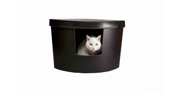 Kitangle Corner Kitty Litter Box