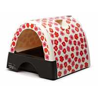 Kitty a Go-Go Designer Cat Litter Box - Flower