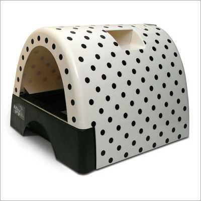 Kitty a Go-Go Designer Cat Litter Box - Polka Dot