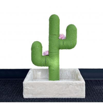Small Cactus Cat Scratching Post