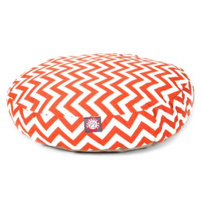 Chevron Round Cat or Pet Bed in Multiple Sizes & Colors