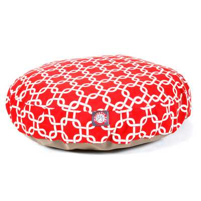 Links Round Cat or Pet Bed in Multiple Sizes & Colors