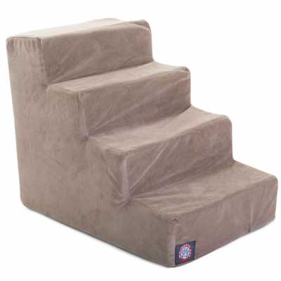 Microvelvet Pet Stairs Steps in Multiple Sizes & Colors