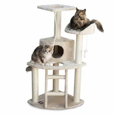 Casita 48 Inch Faux Fur Cat Tree