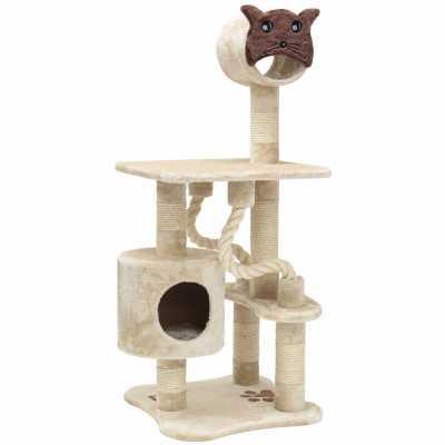 Casita 49 Inch Faux Fur Cat Tree