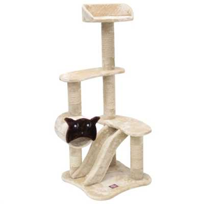 Casita 47.5 Inch Faux Fur Cat Tree