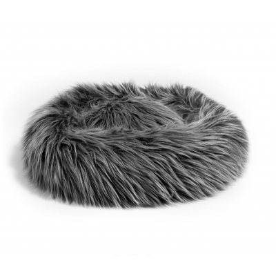 Furry Donut Cat Bed