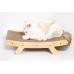 Edison Modern Wooden Cat Scratcher