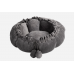 Ollie Transformable Modern Plush Cat Bed