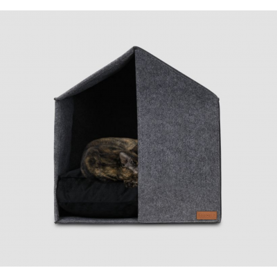 Holmes Modern Felt Cat Cave Bed