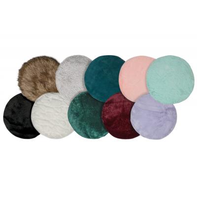 "Round Plush Cushion for Cat Trees - 17"" diameter"