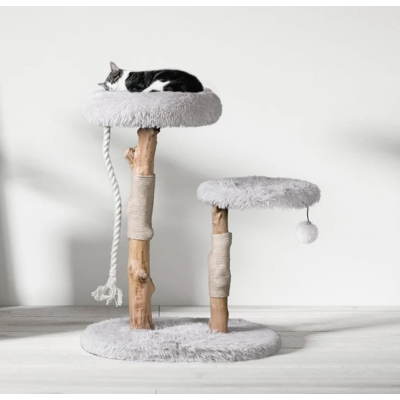 Risotto Luxury Wood 2 Tier Cat Tree