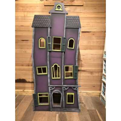 Haunted Hideaway Cat Condo Tower