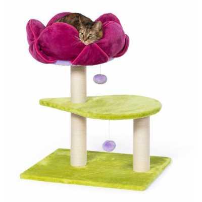 Pink Lotus Single Flower Power Cat Tree 7320