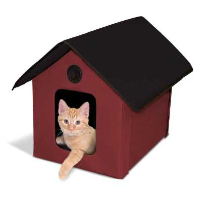 K&H Pet Products Unheated Outdoor Kitty House