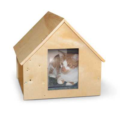 K&H Pet Products Birchwood Manor Kitty House