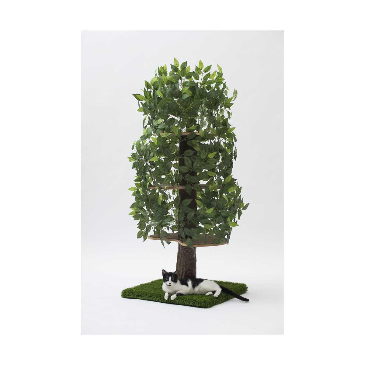 Luxury Cat Tree Large Square Base
