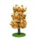 Luxury Cat Tree (Large) - Round Base with Autumn Leaves - CT011
