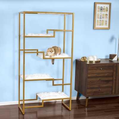 CatsPlay Stylish Bookcase Cat Tree - CatsPlay Superstore