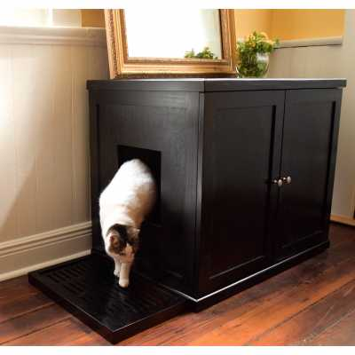 Refined Cat Litter Box