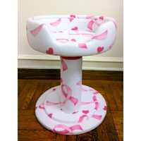 Pink Ribbon Hypranest Deluxe Cat Tree - without Vinyl