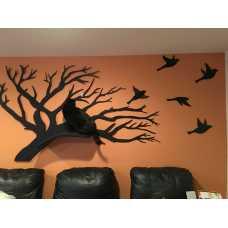 Wall Mounted Cat Tree Artisan Perch