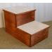 FLASH SALE - ONE ONLY - Hardwood BIG Pet Steps 2 Step Height