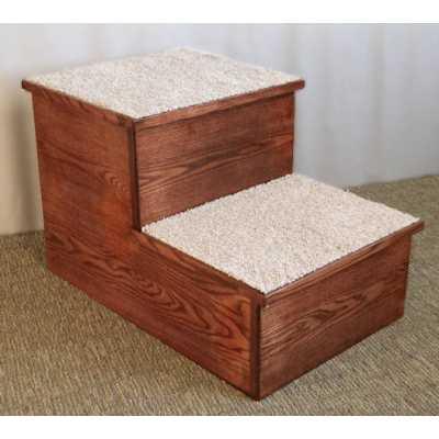 Hardwood BIG Pet Steps 1, 2 or 3 Step Height